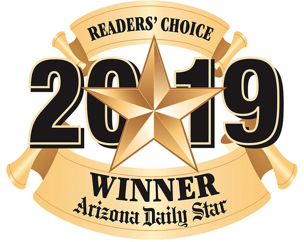 2018 Reader's Choice Award